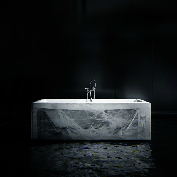 Ванная в 3d стиле